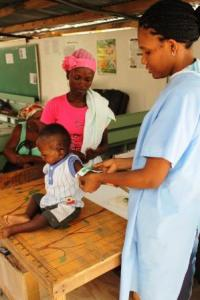 All children 6 months to 5 years are screened for malnutrition