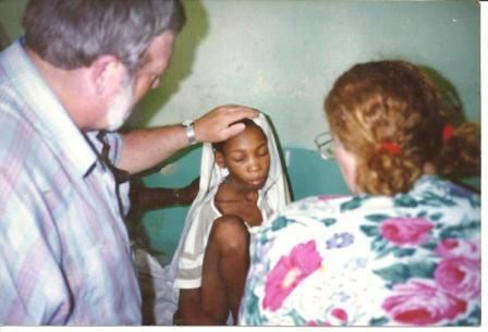 mom and dad's first trip to Haiti